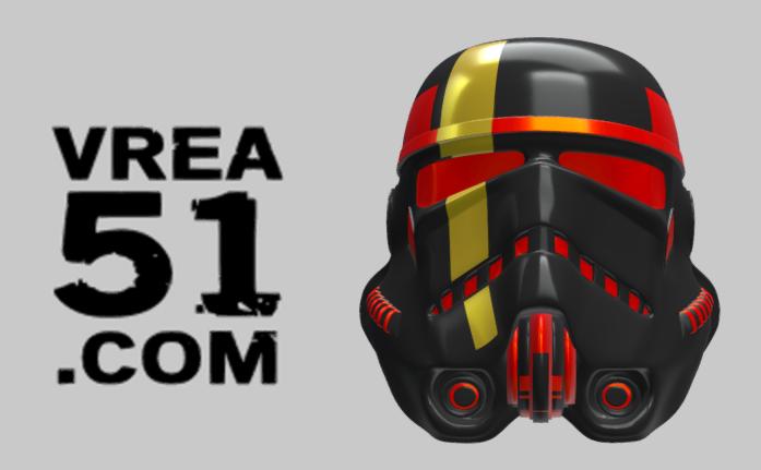 3D Build: Storm Trooper Helmet