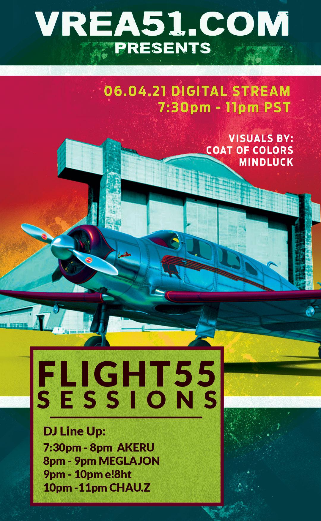 Flight 55 Sessions Digital Stream