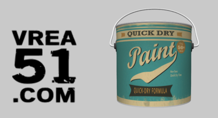 3D Build: Vintage Paint Can
